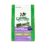 Greenies Greenies Treat Pack Blueberry Teenie