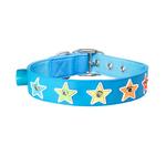 Gummi Gummi Flashing Star Collar Blue