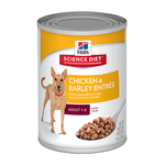 Hills Science Diet Hills Canine Adult Chicken Cans 12 x 370g