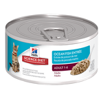 Hills Science Diet Hills Feline Adult Seafood Cans