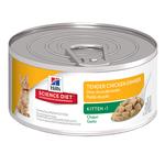 Hills Science Diet Hills Feline Kitten Tender Chicken Dinner Cans 24 x 156g