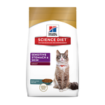 Hills Science Diet Hills Feline Sensitive Stomach And Skin