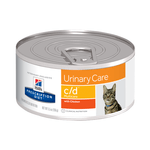 Hills Prescription Diet Hills Prescription Diet Feline Cd Multicare Urinary Care Canned 24 x 156g