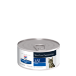 Hills Prescription Diet Hills Prescription Diet Feline Zd Skin Food Sensitivities Canned 24 x 156g
