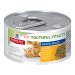 Hills Science Diet Hills Science Diet Youth Vitality Mature Cat Food Cans Chicken Veg