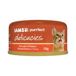 Iams Iams Cat Delicacies Chicken Breast Entree Gravy 24 x 70g