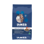 Iams Iams Dry Cat Food Adult Multi Cat Chicken And Salmon 15kg