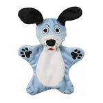 JW Pet Jw Crackle Heads Plush Dog