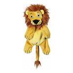 JW Pet Jw Crackle Heads Plush Lion