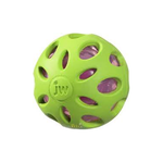 JW Pet Jw Crackle Heads Rubber Ball