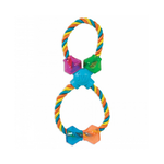 JW Pet Jw Treat Rope Figure Eight