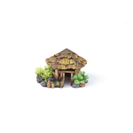 Kazoo Kazoo Bali Hut With Plants Round