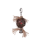 Kazoo Kazoo Bird Toy Hanging Wicker Ball With Bell