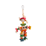 Kazoo Kazoo Bird Toy Man With Sisal Rope And Chips