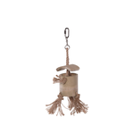 Kazoo Kazoo Bird Toy Natural Wooden Well With Rope