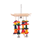 Kazoo Kazoo Bird Toy Tee With Hanging Chips And Bells