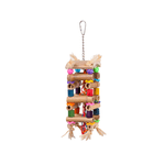 Kazoo Kazoo Bird Toy Tower With Sisal And Beads