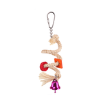 Kazoo Kazoo Bird Toy With Sisal Rope And Bell