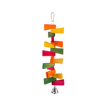 Kazoo Kazoo Bird Toy With Zig Zag Chips And Bell