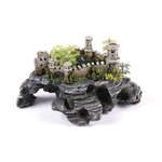 Kazoo Kazoo Castle Ruin With Cave And Plants