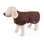 Kazoo Kazoo Dual Collar Coat With Harness Hatch Cocoa