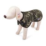 Kazoo Kazoo Nylon Coat With Harness Hatch Camo