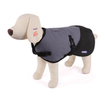 Kazoo Kazoo Nylon Coat With Harness Hatch Silver Black
