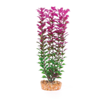 Kazoo Kazoo Plastic Plant Small Leaf Purple White