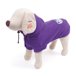 Kazoo Kazoo Polar Fleece Hoodie Purple