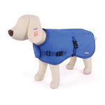 Kazoo Kazoo Reflective Nylon Coat Blue