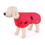 Kazoo Kazoo Reflective Nylon Coat Red
