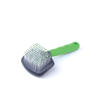Kazoo Kazoo Small Animal Slicker Brush Green Grey