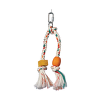 Living World Living World Bird Junglewood Double Rope Tassel With Block Beads