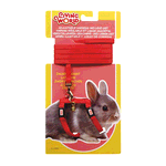 Living World Living World Dwarf Rabbit Harness Lead Set Red