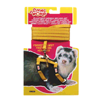 Living World Living World Ferret Harness Lead Set Yellow