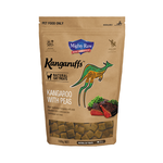 Mighty Raw Mighty Raw Kangaruffs Cat Treats Kangaroo With Peas