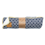 Mog and Bone Mog And Bone Blanket Ikat Navy