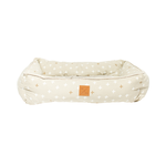 Mog and Bone Mog And Bone Bolster Bed Cross Oatmeal