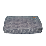 Mog and Bone Mog And Bone Classic Cushion Blue Stripe
