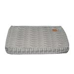 Mog and Bone Mog And Bone Classic Cushion Grey Stripe