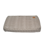 Mog and Bone Mog And Bone Classic Cushion Mocca Stripe