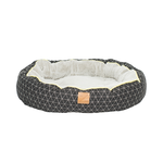 Mog and Bone Mog And Bone Reversible Circular Bed Triangle Pitch