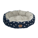 Mog and Bone Mog And Bone Reversible Circular Blue Dog