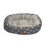 Mog and Bone Mog And Bone Reversible Circular Grey Dog