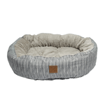 Mog and Bone Mog And Bone Reversible Circular Grey Stripe