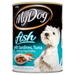 My Dog My Dog Fish Sardines Tuna Spring Veges