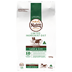 Nutro Nutro Limited Ingredient Diet Dry Dog Food Lamb And Rice 12.5kg
