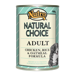 Nutro Nutro Natural Choice Dog Chicken Rice And Oatmeal Cans