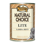 Nutro Nutro Natural Choice Dog Lite Lamb And Rice Cans