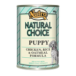 Nutro Nutro Natural Choice Puppy Chicken Rice And Oatmeal Cans
